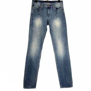 Rock & Republic Berlin Blue Skinny Jeans Mid 10